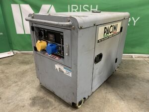 Pacini PC75 7.5Kva Key Start Diesel Generator