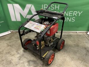 Lifan 3000Psi Petrol Power Washer c/w Keystart & Lance