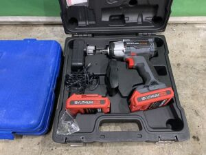 Neilsen Cordless Impact Wrench c/w 2x Battries & Charger