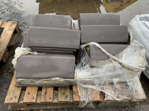 UNRESERVED 1 x Pallet Of Roofing Caps & Roofing Slates